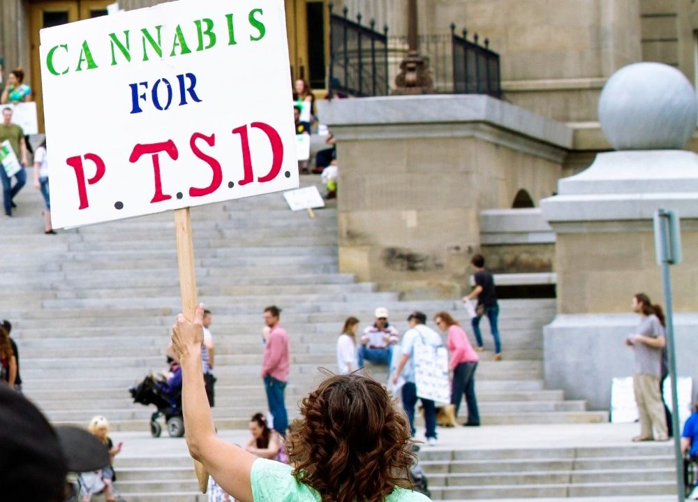Cannabis Eases Symptoms of PTSD